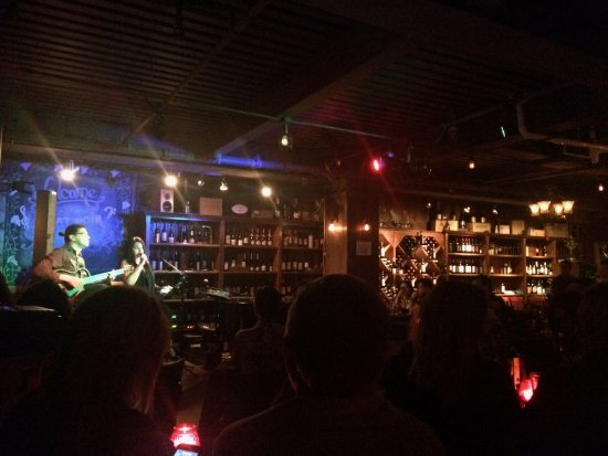(Literally) Underground Jazz and Wine at Miami's le Chat Noir